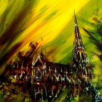 Mariendom, Gothic, Linz, Kirche