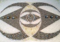 Gold, Universum, Mandala, Edelstein