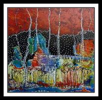 Passion, Elemente, Malerei, Erde
