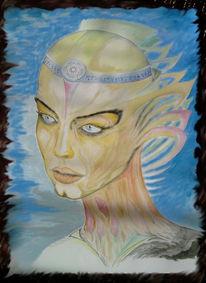 Frau, Fantasie, Königin, Mythologie