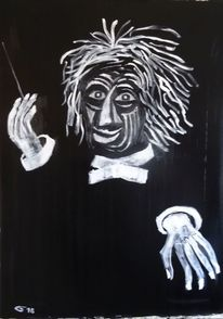 Taktstock, Dirigent, Gesicht, Hand