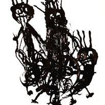 Tod, Artbrut, Outsider art, Malerei