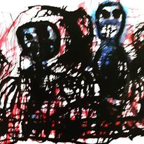 Outsider art, Artbrut, Psychiatrie, Malerei