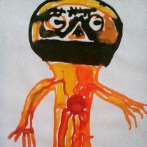 Augen, Herz, Hände, Zeichnungen