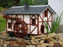 Wassermühle, Kunsthandwerk