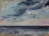 Wolken, Meer, Himmel, Wasser