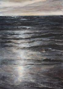 Meer, Wasser, Himmel, Licht