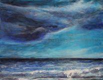 Licht, Himmel, Malerei, Sturm