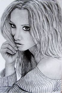 Ashley, Tisdale, Portrait, Radiergummi