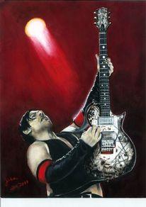 Rammstein, Richard kruspe, Gitarist, Aquarell