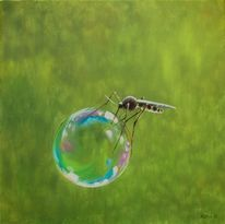 Insekten, Malerei, Witzig, Tiere