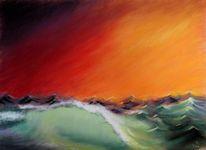 Wasser, Sturm, Malerei, Meer