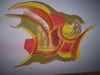 Intuition, Pastellmalerei, Individuell, Energie