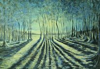 Acryl painting, Malerei