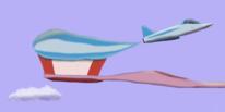 Surreal, Zahnpasta, Flugzeug, Artflow