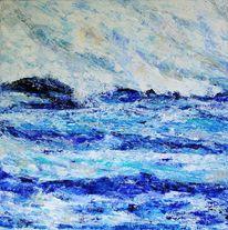 Grau, Küste, Experimentell, Landschaft