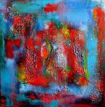 Synästhesie, Acrylmalerei, Relief, Unbewusst