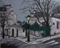 Frankreich, Paris, Malerei,