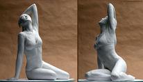 Skulptur, Frau, Figur, Plastik