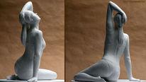 Figur, Skulptur, Frau, Plastik