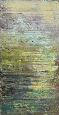 Grün, Landschaft, Abstrakt, Abrasion