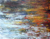 Stille, Wasser, Teich, Tümpel