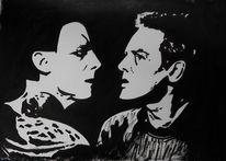 Acrylmalerei, Malerei, Faust, Pakt