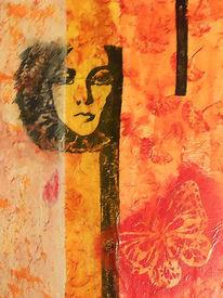 Malerei, Acrylmalerei, Frühling