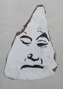 Acrylmalerei, Skulptur, Holz, Plastik