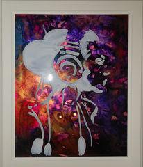 Musik, Fantasie, Acrylglas, Malerei