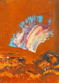 Meer, Kupfer, Farben, Surreal