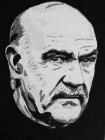 Portrait, Sean connery, Zeichnung, Zeichnungen