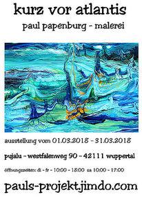 Ausstellung, Abstrakt, Wuppertal, Pinnwand