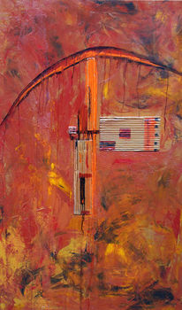 Bach, Abstrakt, Erde, Schwinge