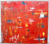 Fantasie, Rot, Abstrakt, Feuerland