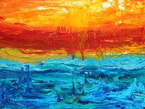 Atlantis, Bunt, Abstrakt, Meer