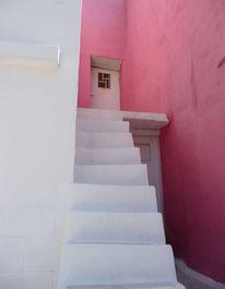 Treppe, Samos, Weiß, Süden