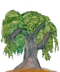Äste, Blätter, Zweig, Grün