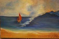 Boot, Wasser, Malerei