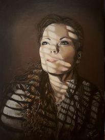 Gesicht, Portrait, Malerei, Selbstportrait