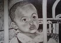 Kopf, Augen, Kind, Zeichnungen