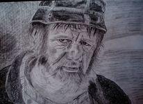 Mann alt hut, Zeichnungen