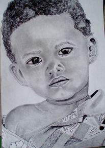 Schwarz gesicht kind, Zeichnungen
