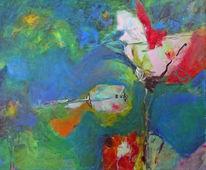 Pflanzen, Leben, Malerei, Fisch