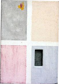 Rechteck, Rot, Grau, Hochformat