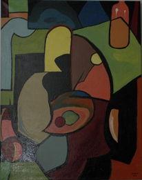 Farb spielerei acyllack, Malerei