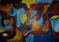 Einer idee, Verwirklichung, Modern art, Malerei