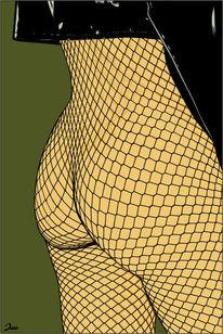 Erotik, Illustration, Illustrationen, Netzwerk