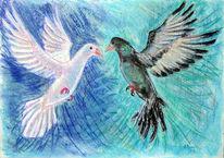 Verlieben, Fliegen, Geschenk, Hochzeit