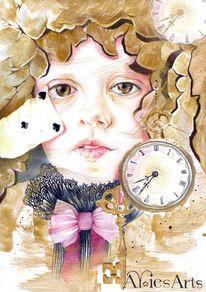 Uhr karte, Zeichnungen